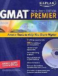 Kaplan GMAT 2010-2011 Premier with CD-ROM