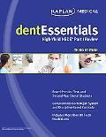 dentEssentials: High-Yield NBDE Part I Review (Kaplan Dentessentials)