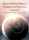 Brown-Driver-Briggs Hebrew and English Lexicon