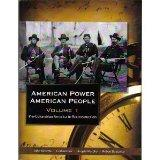 American Power American People, Vol. 1: Pre-Columbian America to Reconstruction