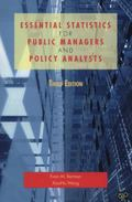 Essential Statistics for Public Managers and Policy Analysts, 3rd Edition