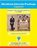 Abraham Lincoln Copywork Notebook Package : The Emancipation Proclamation and the Gettsburg ...
