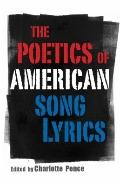 Poetics of American Song Lyrics