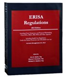 ERISA Regulations, 2013 Edition