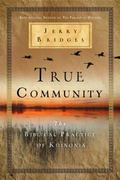 True Community : The Biblical Practice of Koinonia