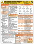 OSHA Construction Safety Essentials Quick-Card : A Unique Quick-Reference Guide