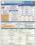 Ceramic Tile Essentials Quick-Card : A Unique Quick-Reference Guide by Builder's Book, Inc