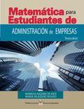 Matematicas para Estudiantes de Administracion de Empresas