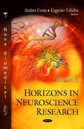 Horizons in Neuroscience Research. Volume 16