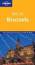 Lonely Planet Best of Brussels The Ultimate Pocket Guide & Map
