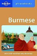 Lonely Planet: Burmese Phrasebook
