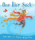 One Blue Sock