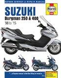 Suzuki Burgman 250 & 400 '98 to '15 (Haynes Service & Repair Manual)