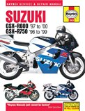 Suzuki GSX-R600 '97 to '00 - GSX-R750 '96 to '99 (Haynes Service & Repair Manual)