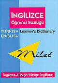 Milet Learner's Dictionary/Ogrenci Sozlugu English-Turkish/Turkish-English/Ingilizce-Turkce/...