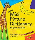 Milet Mini Picture Dictionary English-Somali  Board