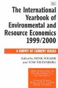 International Yearbook of Environmental and Resource Economics 1999-2000 A Survey of Current...