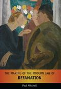 Making of the Modern English Law of Defamation
