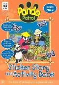 Panda Patrol Sticker, Story and Activity Book 2