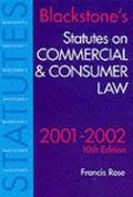 Statutes on Commercial and Consumer Law: 2001-2002