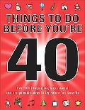 Things to Do Before You're 40