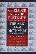 Geiriadur Newydd y Gyfraith: Saesneg-Cymraeg