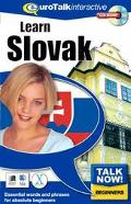 Learn Slovak (Talk Now! Series)