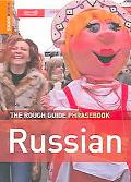 Rough Guide Russian Phrasebook