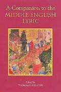 Companion to the Middle English Lyric