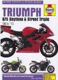 Triumph 675 Daytona and Street Triple Service and Repair Manual: 2006 to 2010 (Haynes Service and Repair Manuals)