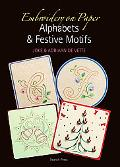 Embroidery on Paper: Alphabets & Festive Motifs
