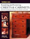 Furniture Care: Repairing and Restoring Chests and Cabinets - William Cook - Paperback