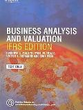 Business Analysis and Valuation: Ifrs Edition - Text Only