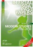 Intermediate 2 Modern Studies 2006-2010. (SQA Past Papers)