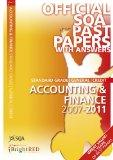 Accounting & Finance General (SQA Past Papers)