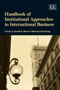 Handbook of Institutional Approaches to International Business