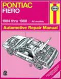 Pontiac Fiero '84'88 (Haynes Manuals)