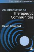 Introduction to Therapeutic Communities
