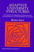 Adaptive University Structures An Analysis of Adaptation of Socioeconomic Environments of Us...