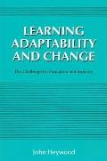 Learning Adaptability and Change