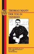 Mann Der Tod in Venedig