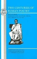 Two Centuries of Roman Poetry - Eberhard Christoper Kennedy - Paperback