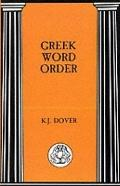 Greek Word Order