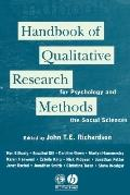Handbook of Qualitative Research Methods for Psychology & the Social Sciences