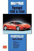 Road & Track Ferrari F355 & 360 Portfolio 1995-2002