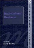 International Business (History of Management Thought, 17)