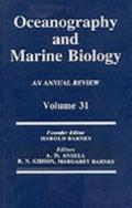 Oceanography and Marine Biology An Annual Review
