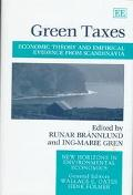 Green Taxes Economic Theory and Empirical Evidence from Scandinavia