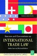 Statutes on International Trade