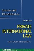 Statutes & Conventions on Private International Law